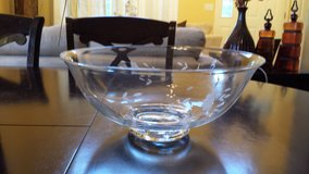 New!!! Princess House crystal bowl in Naperville, Illinois