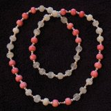 J19 Pink & White Beads Necklace in Ramstein, Germany