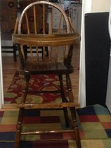 Antique High Chair in Yorkville, Illinois