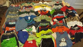 12 MONTH BOY'S CLOTHES LOT WARM WEATHER in Perry, Georgia