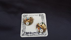 Vintage Clip-on Sewing Earrings in Bolingbrook, Illinois