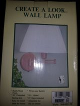 Wall mount lamp in Manhattan, Kansas