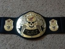 WWF Smokin Skull Title Belt in Camp Lejeune, North Carolina