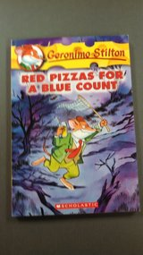 Geronimo Stilton- Red Pizzas for a Blue Count-new in Fort Riley, Kansas