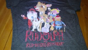 Rudolph t-shirt/Christmas in The Woodlands, Texas