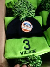 *** Seahawks Pom Knit Beanie / Stocking Cap - Russell Wilson #3 *** (NEW) in Tacoma, Washington