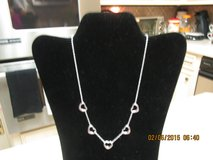 """""""5-Heart Necklace - .925 Sterling Silver - New/Unused in Houston, Texas"""