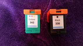 HP 336 Black 342 Colour Reman Ink Cartridge Photosmart in Tampa, Florida