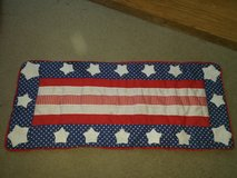 Red, White & Blue table runner in Chicago, Illinois