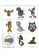 Embroidery /Cartoons Designs in Fort Lewis, Washington