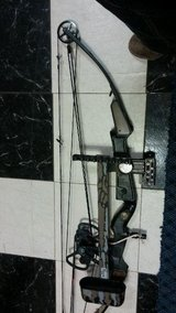 Compound bow in Camp Lejeune, North Carolina