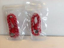 IPHONE 5/6 CHARGING CABLES ( PAIR ) in Joliet, Illinois