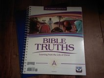 BJPress Bible 7 TE and test key in Fort Riley, Kansas