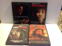 DVD ACTION & THRILLER PACKAGE ( 4 ) in Naperville, Illinois