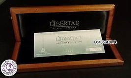 2009 Silver Libertad Proof Set Box Coin in Camp Lejeune, North Carolina