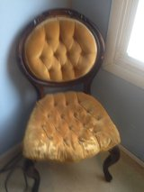 antique parlor chair in Yorkville, Illinois