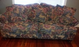 Floral couch in Joliet, Illinois