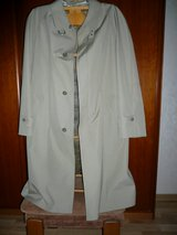 light weight overcoat or raincoat, zip-out lining (never worn) in Ramstein, Germany