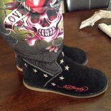 ED Hardy Boots in Ramstein, Germany