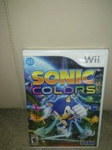 Sonic Colors for the wii in Lockport, Illinois