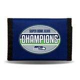 *** SEATTLE SEAHAWKS SUPER BOWL XLVIII TRI-FOLD NYLON WALLET (NEW) *** in Tacoma, Washington