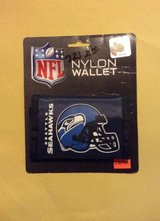 *** SEATTLE SEAHAWKS TRI-FOLD NYLON WALLET (NEW) *** in Fort Lewis, Washington