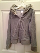 Girls Justice S10 Grey Hoodie Sweater in Plainfield, Illinois
