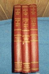 1951 WWII & Korean Wars Pictorial History 3 vols. in Alamogordo, New Mexico