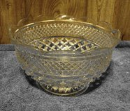Vintage Glass Punch Bowl in Alamogordo, New Mexico