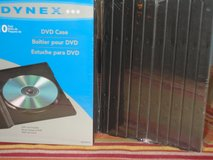 "DVD   ""CASES"" (10 PK) in Lockport, Illinois"