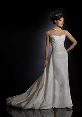 Designer Wedding Dress / James Clifford Bridal Gown J21020S in St. Charles, Illinois