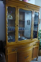 China cabinet in Camp Pendleton, California