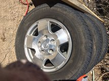 Toyota tundra wheels and tires in Yucca Valley, California