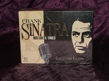 Frank Sinatra His Life and Times Collector's Edition VHS Box Set NEW in Glendale Heights, Illinois