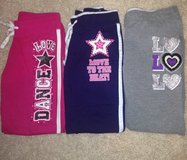 Girls Justice Sweatpants-Size 10 in Westmont, Illinois