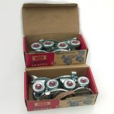 VTG GLOBE ROLLER SKATES w BOX #63 Ages 5-12 in Westmont, Illinois