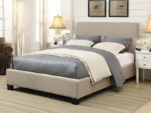 "SALE 30-50% OFF RETAIL! LUXURIOUS ""BRUNSWICK"" LINEN CA KING BEDFRAME (NEW)!!!! in Camp Pendleton, California"