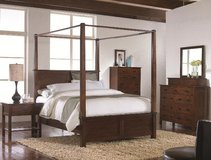 BRAND NEW Queen Canopy Bed in Beaufort, South Carolina