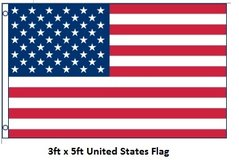 Flag - United States - 3ft x 5ft - New in Tacoma, Washington