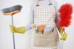 Cleaning Lady in Grafenwoehr, GE