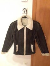 Faux leather jacket women's small in Ramstein, Germany