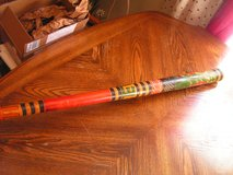 """Hand Painted and Carved Pinata Bat/Stick- Mexican/Aztec/Mayan 31"""" in Hopkinsville, Kentucky"""
