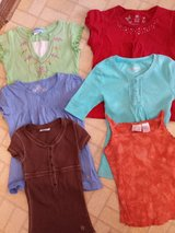 Stuff a bag $5 Summer BTS Girls Tops Size 6 7 8 in Glendale Heights, Illinois