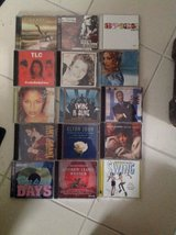 Bunch of late 90s early 2000 CDs of various genres in Lockport, Illinois