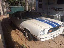 76' Mustang Cobra II in Fort Polk, Louisiana