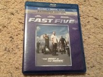 Fast Five BluRay in Camp Lejeune, North Carolina