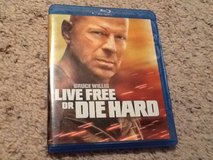 Live Free or Die Hard BluRay in Camp Lejeune, North Carolina