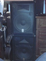 Yamaha BR15 P/A Speakers in Yucca Valley, California