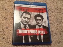 Righteous Kill BluRay in Camp Lejeune, North Carolina