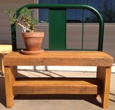 Garden Bench in Alamogordo, New Mexico